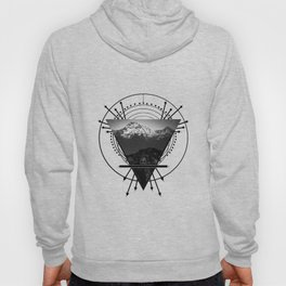 Wiccan Earth Element Symbol Pagan Witchcraft Triangle Hoody