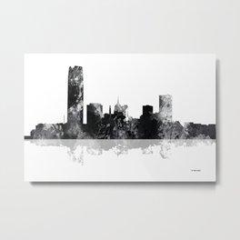 Oklahoma City, Oklahoma skyline Metal Print