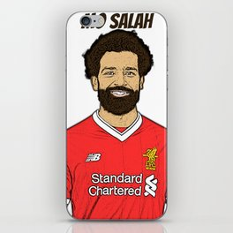 Mo Salah iPhone Skin