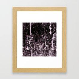 Gnome Forest Framed Art Print