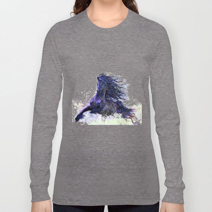 Horse running  Long Sleeve T-shirt