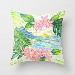 Mount Kilhuea Throw Pillow