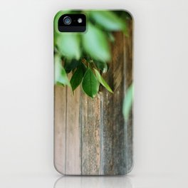 Wood Green iPhone Case