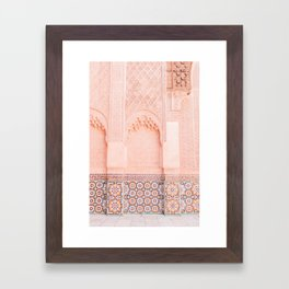 Marrakech Ben Youssef Framed Art Print