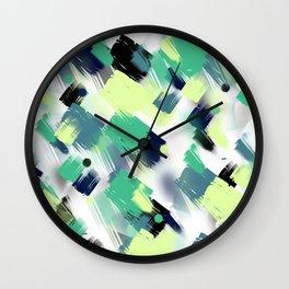 Abstract pattern 153 Wall Clock