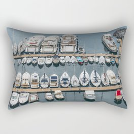 Boats Rectangular Pillow