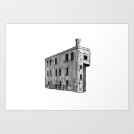 CANADIAN NATIONAL CONTROL STATION Art Print