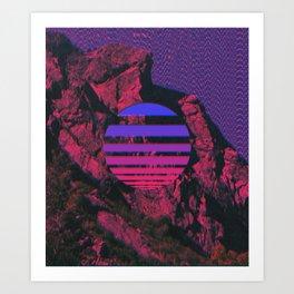 Mount 3D Art Print