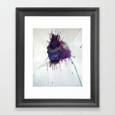 The Hand of Evil Framed Art Print