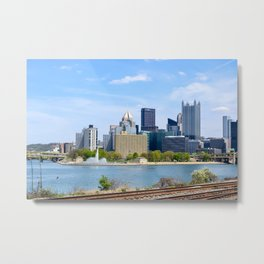 Beautiful Pittsburgh Metal Print