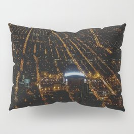 United Center: A Standout Arena (Chicago Architecture Collection) Pillow Sham