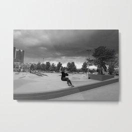 Denver Skate Park Metal Print