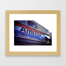 Amtrak Framed Art Print