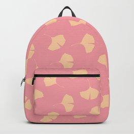 pink ginkgo Backpack