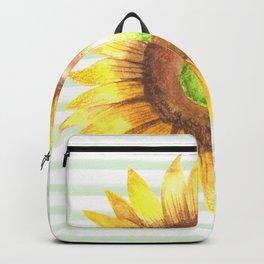 Sunflower Stripe Backpack