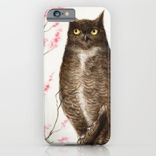 Spring Owl iPhone & iPod Case