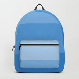 Four Shades of Light Blue Backpack