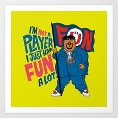 Big Fun Art Print
