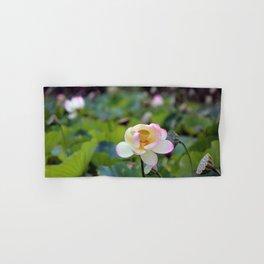 Aquatic Garden Lotus 2 Hand & Bath Towel