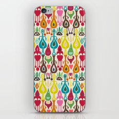 ivory love ikat iPhone & iPod Skin