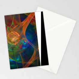 Neuron Network Stationery Cards