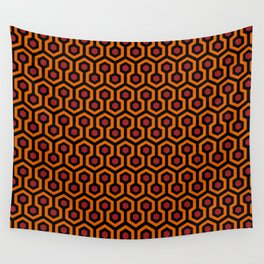 Shining Hotel Carpet Pattern Wall Tapestry