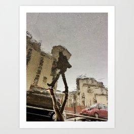 Paris Reflections III Art Print