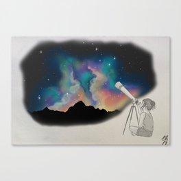 Stargazer  Canvas Print