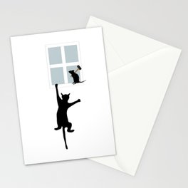 Window Cat Stationery Cards
