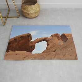 Valley of Fire Arch Rock Rug