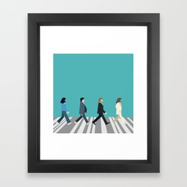 The tiny Abbey Road Framed Art Print