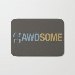 AWDSOME v7 HQvector Bath Mat