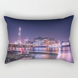 The Shard at Night Rectangular Pillow