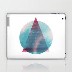 Where U & I Belong Laptop & iPad Skin
