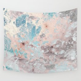 Pastel marble texture Wall Tapestry