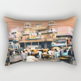 Old Dehli Rectangular Pillow