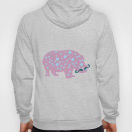 Hipster Hippo Hoody