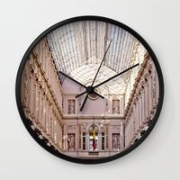 brussels Wall Clocks featuring brussels by Beau Colin