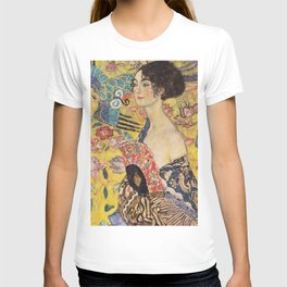 WOMAN WITH FAN - GUSTAV KLIMT T-shirt