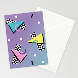 Memphis pattern 59 - 80s / 90s Retro Stationery Cards