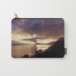 Loch Ness Sunset Carry-All Pouch