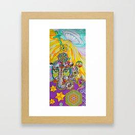 All One Framed Art Print