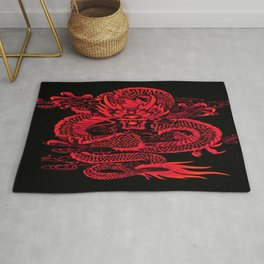 Epic Dragon Red Rug