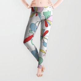 Draw me floral Leggings