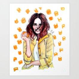 Citrus scent Art Print