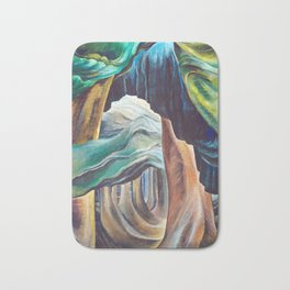 Emily Carr Forest British Columbia Painting Bath Mat