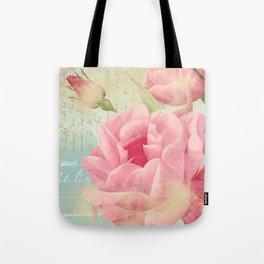 Vintage flowers #13 Tote Bag