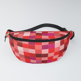 Red Pixel Fanny Pack