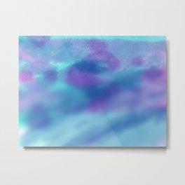 Blue Sky Blue Waters Metal Print