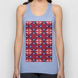 Abstract flower pattern 5h Unisex Tank Top